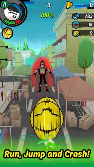 Ben 10: Up to Speed cho iOS biến hình thành siêu nhân