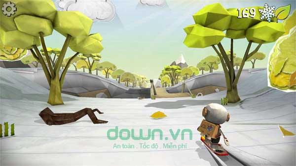 Khám phá thế giới đẹp mắt trong game trượt tuyết vô tận Shred It! Ultimate cho Windows 10