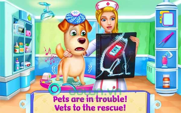 Các động vật cưng đang gặp rắc rối và cần sự trợ giúp của bạn
