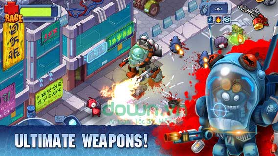 Monster Shooter 2: Back to Earth cho iOS tựa game bắn súng multiplayer hấp dẫn