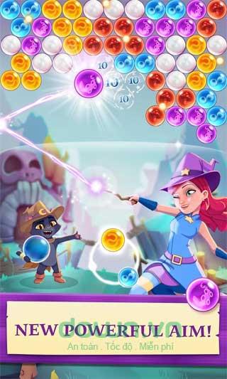 Game bắn bóng phù thủy tuyệt đẹp