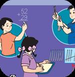 Đề thi học kì 2 môn Toán lớp 2 theo Thông tư 22