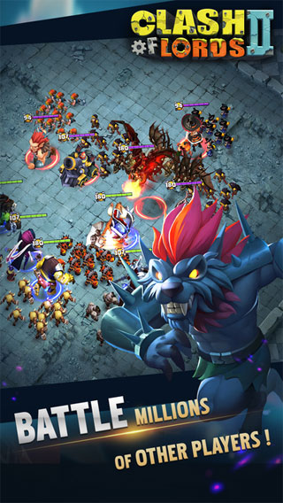 Lập hội trong game Clash of Lords 2: Heroes War cho iOS