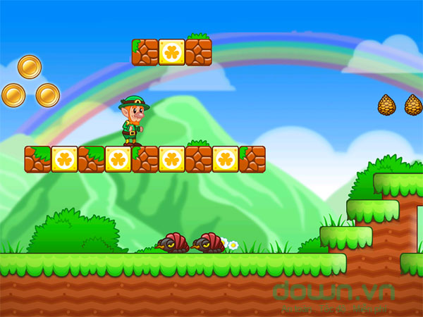 Bối cảnh trong game Lep's World