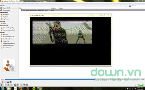 Phát video dưới dạng ký tự ASCII