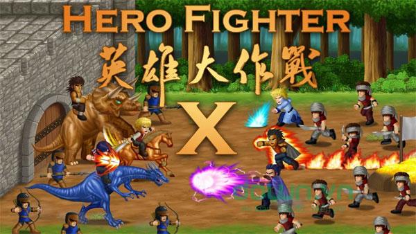 Sức mạnh của người hùng trong Hero Fighter X cho iOS dễ khiến bạn liên tưởng tới truyện tranh 7 viên ngọc rồng kinh điển