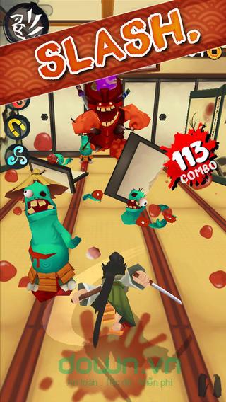 Mở khóa chiến binh mới trong Ninja Slash cho iOS