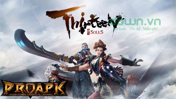 Thirteen Souls: Martial Arts Fighting cho iOS game võ hiệp
