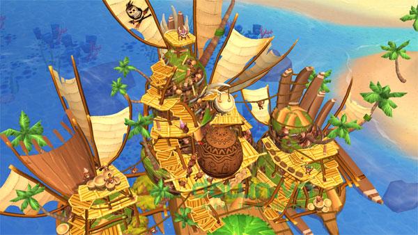 Tạo nên một hòn đảo hùng mạnh
