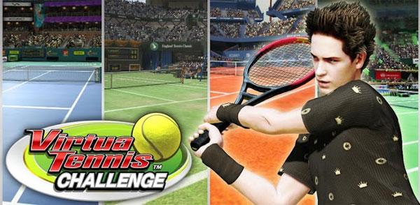 Virtua Tennis Challenge cho iOS để người chơi tham gia vào các giải quần vợt đẳng cấp quốc tế