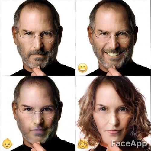 Tạo ảnh tuổi già