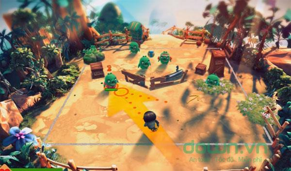 Nhân vật trong game Angry Birds Evolution