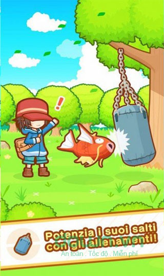 Huấn luyện pokemon