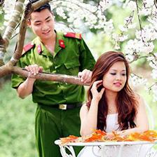 Mẫu đơn xin kết hôn trong ngành công an