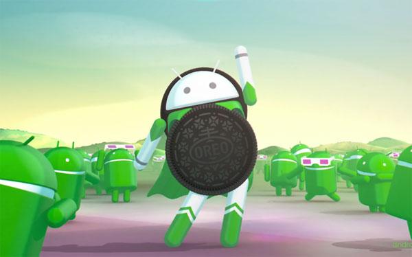 Danh sách thiết bị được cập nhật Android 8.0