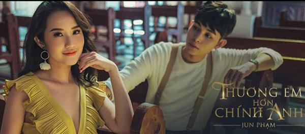 Lời bài hát Thương Em Hơn Chính Anh của ca sĩ Jun Phạm