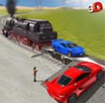 Cargo Train City Station