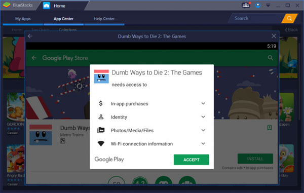 Tải BlueStacks App Player