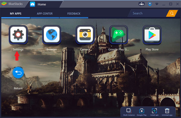 BlueStacks App Player cho Windows