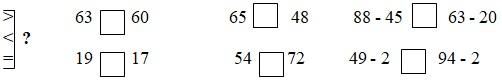 30 đề kiểm tra cuối học kì 2 lớp 1 môn Toán