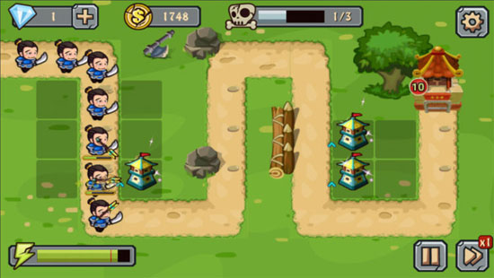 Game xây dựng tháp canh