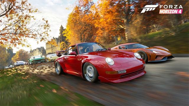 Game đua xe Forza Horizon 4