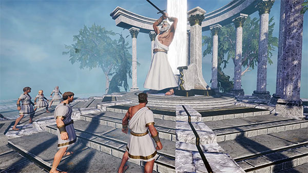 Game sinh tồn Zeus' Battlegrounds