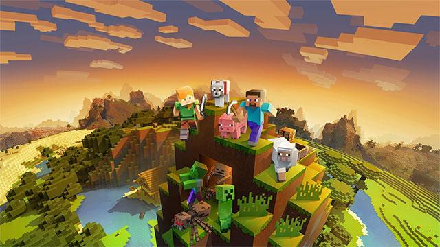 Game Minecraft và gói mở rộng