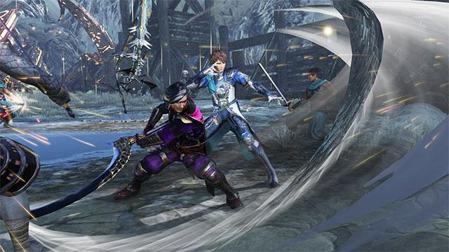 Giao diện chơi game Warriors Orochi 4