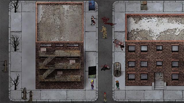 Quái vật xuất hiện ở mọi trong thế giới củaJudgment: Apocalypse Survival Simulation