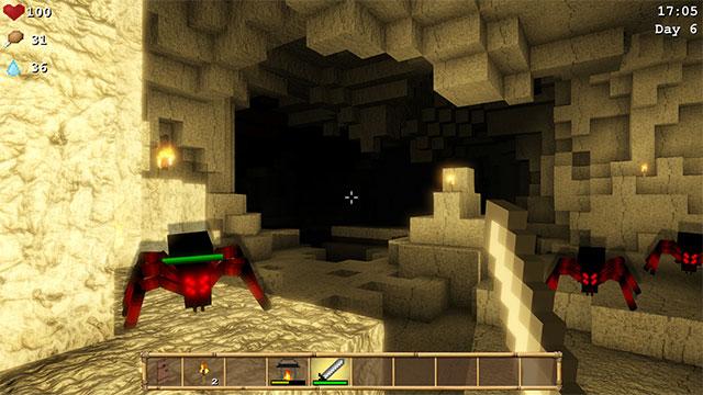 Đề phòng quái vật ở các hang động trên đảo