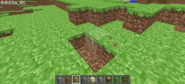 Chơi game Minecraft phiên bản web