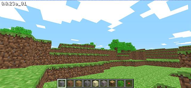 Chơi game Minecraft phiên bản cổ điển