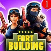 Fort Building Royale 3D