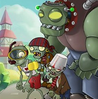 Plants Zombies: Open Fire