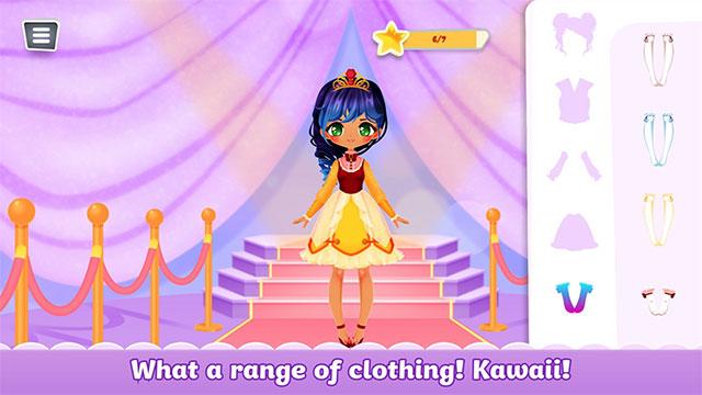 Game Princess Kawaii Girls cho máy tính