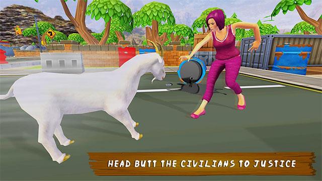 Game mô phỏng Goat Simulator 2020